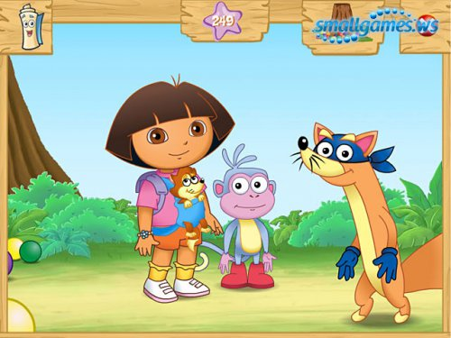 Dora the Explorer: Swipers Big Adventure