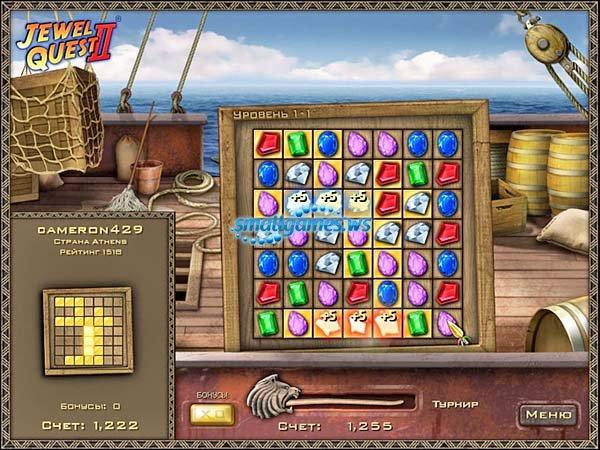 Игра джевел квест карты играть бесплатно без регистрации и смс играть в игровые автоматы