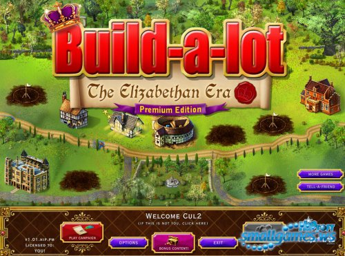 Build-a-lot 5: The Elizabethan Era Premium Edition