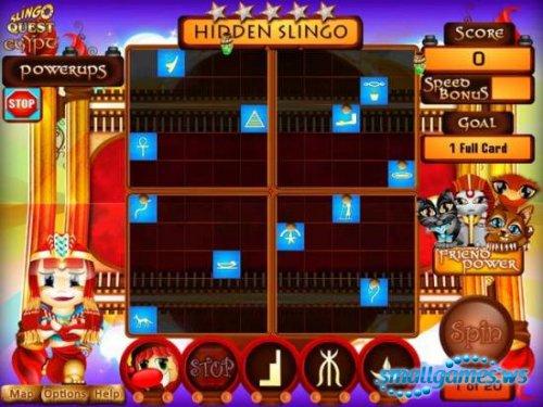 Slingo Quest Egypt