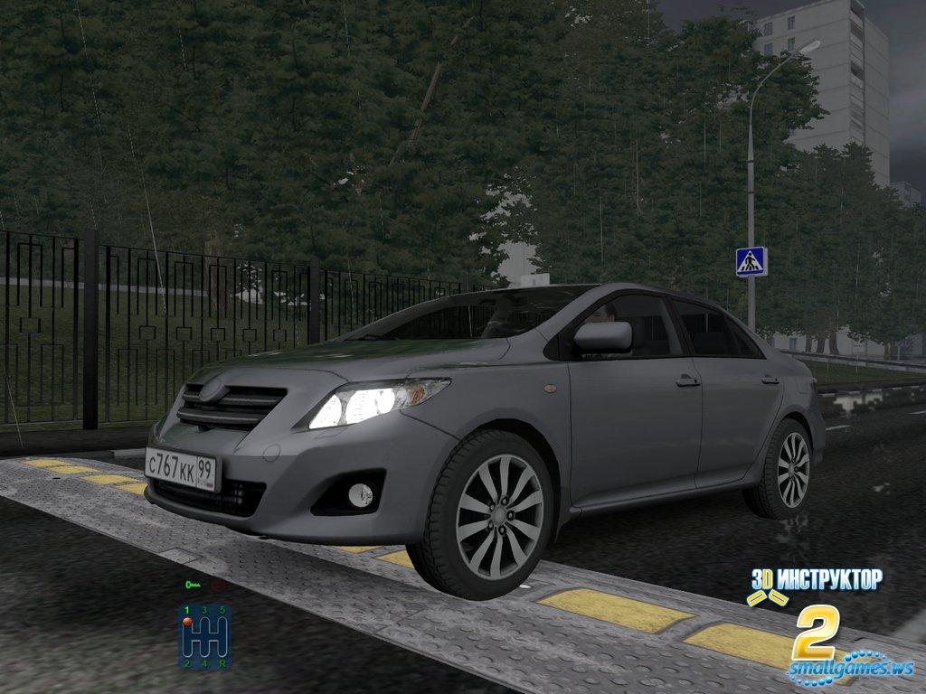 Игру 3D Инструктор Автосимулятор