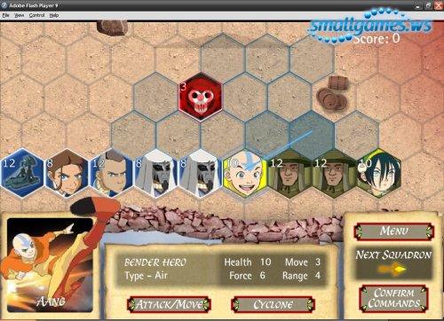 аватар легенда об аанге играть в игры