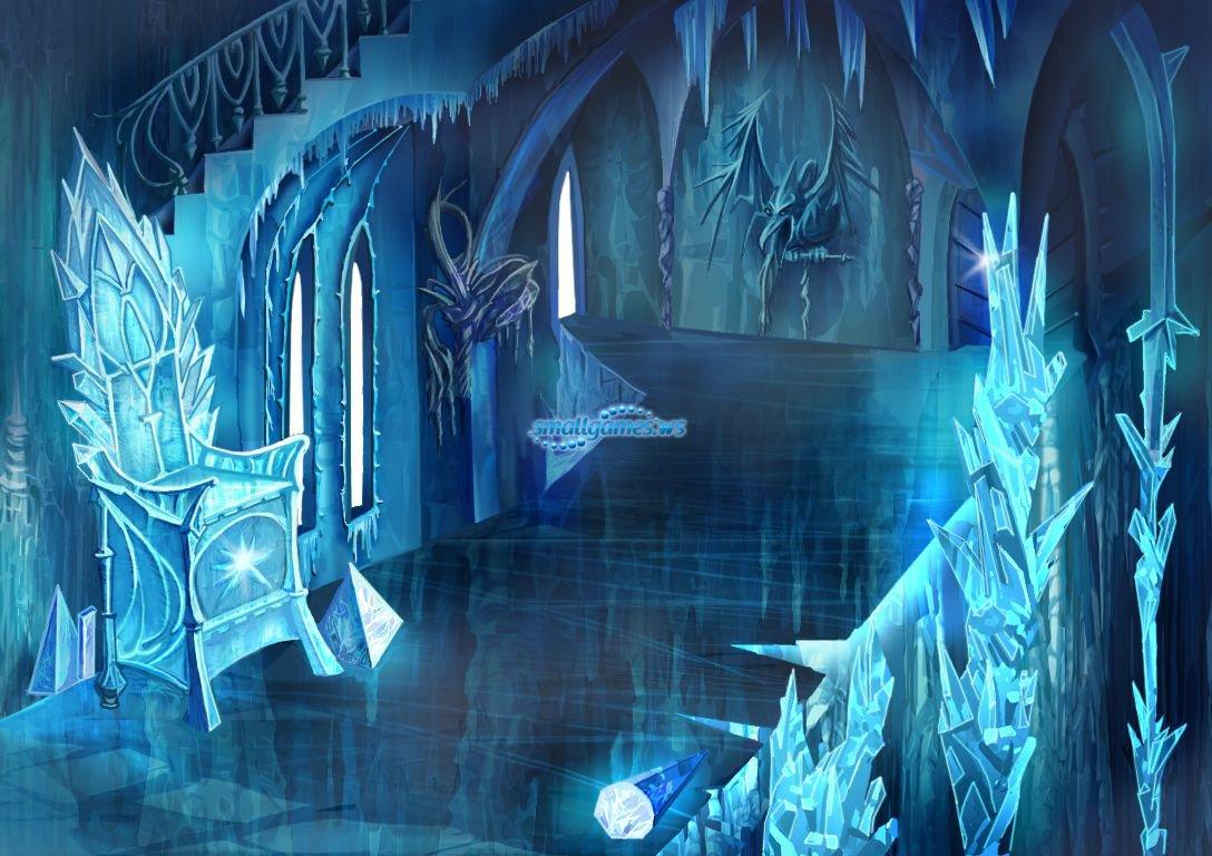 Игра Комната снежной королевы онлайн Snow Queen Room