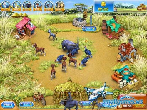 Веселая ферма 3. Мадагаскар