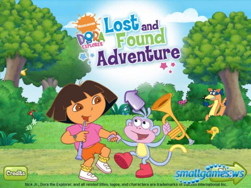Doras Lost and Found Adventure
