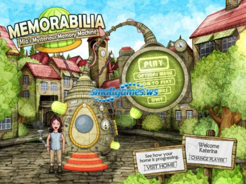 Memorabilia. Mia s Mysterious Memory Machine