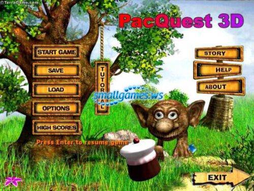 Pacquest 3D