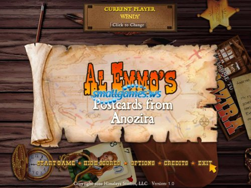 Al Emmos: Postcards from Anozira