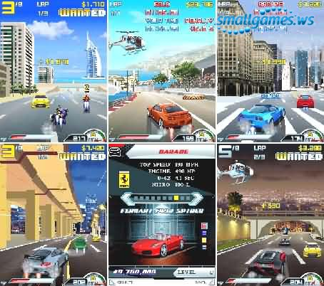 Asphalt 4: Elite Racing - Symbian 9.x
