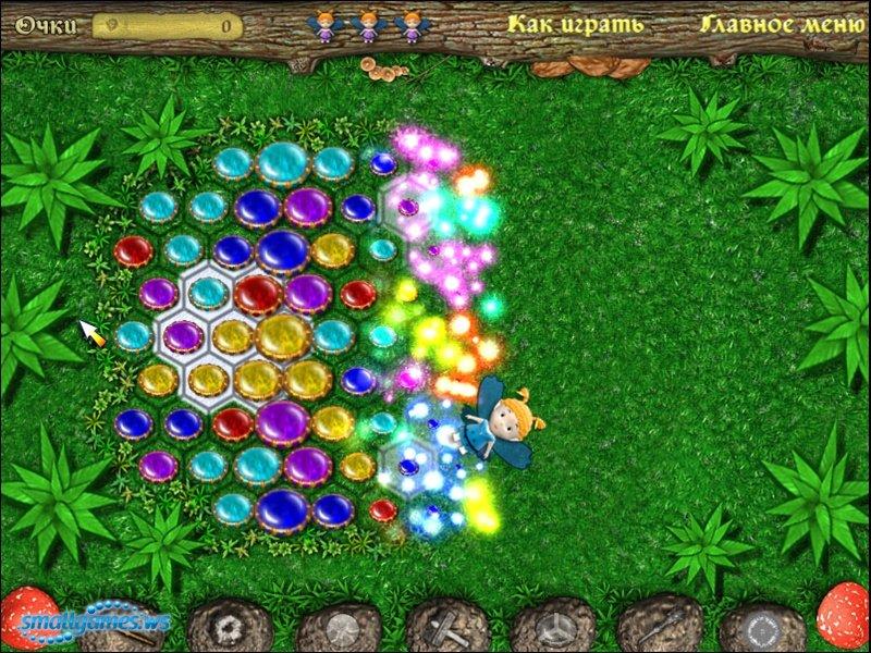 Скачать Игру Волшебные Феи. Цветочное Королевство
