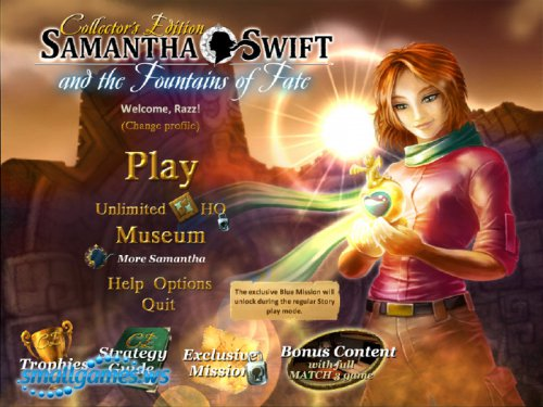 Samantha Swift and the Fountains of Fate: Collectors Edition