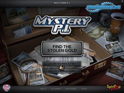 Mystery P.I. - Stolen in San Francisco