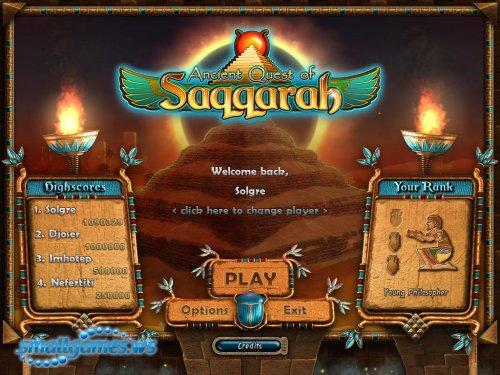 Ancient Quest of Saqqarah & 3 SaqPacks