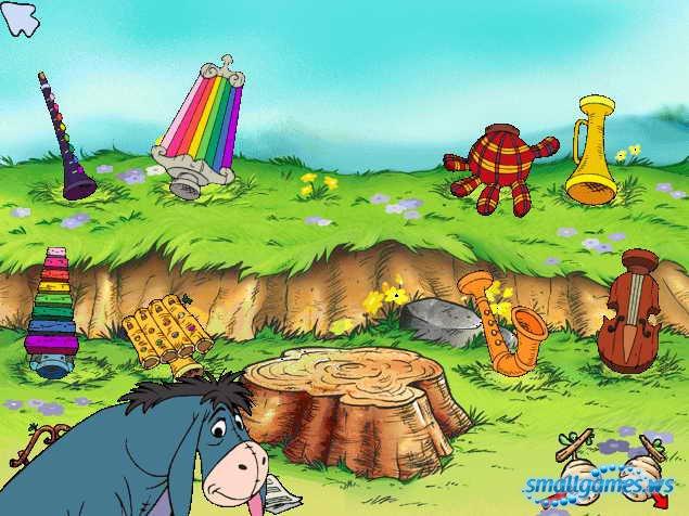 Винни пух детский сад скачать игру бесплатно.