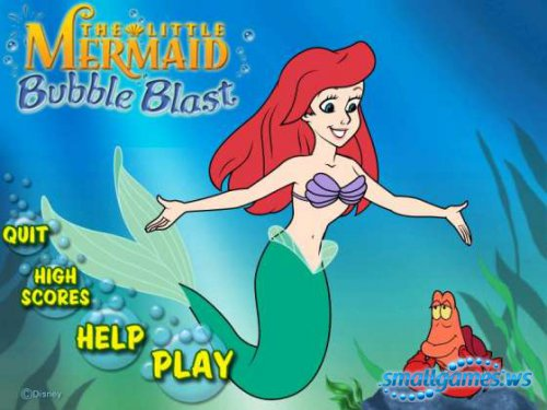 The Little Mermaid Bubble Blast