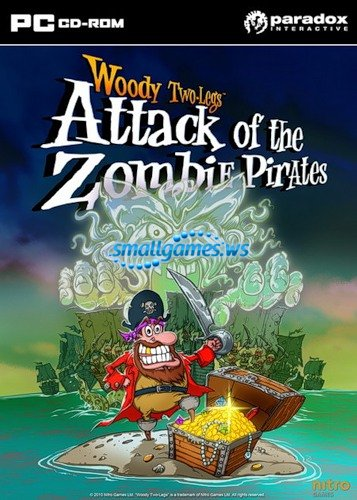 Woody Two Legs Attack of the Zombie Pirates