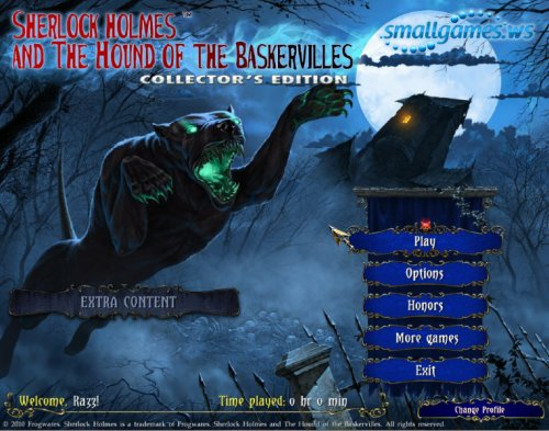 Sherlock Holmes: The Hound of the Baskervilles Collectors Edition