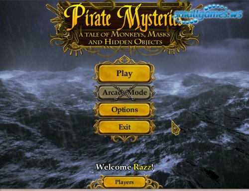 Pirate Mysteries: � Tale of Monkeys, Masks and Hidden Objects