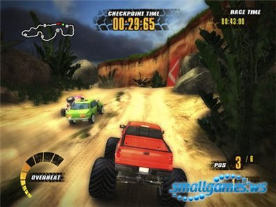 Jungle Racers v1.1 (2010/ENG)
