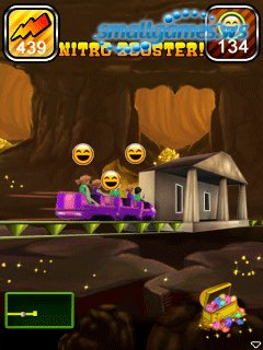 3D Rollercoaster Rush: Underground