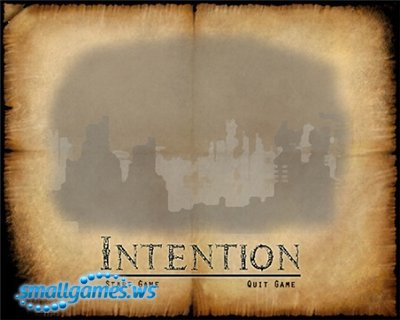Intention (2011/ENG)