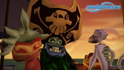 Tales of Monkey Island™. Глава 1. Отплытие Ревущего нарвала