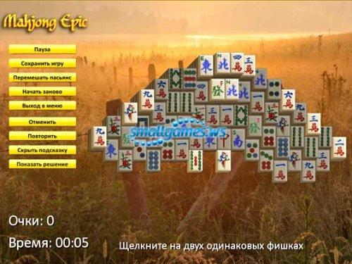 Mahjong Epic (русская версия)