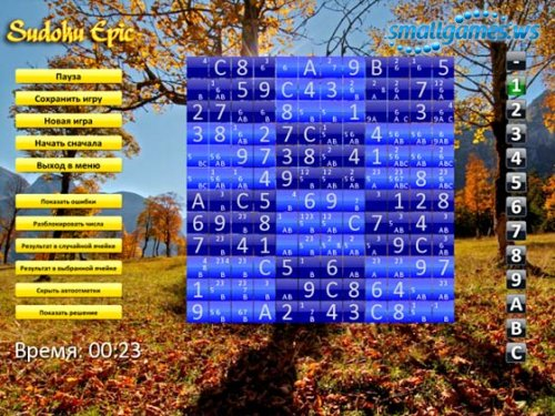 Sudoku Epic (русская версия)