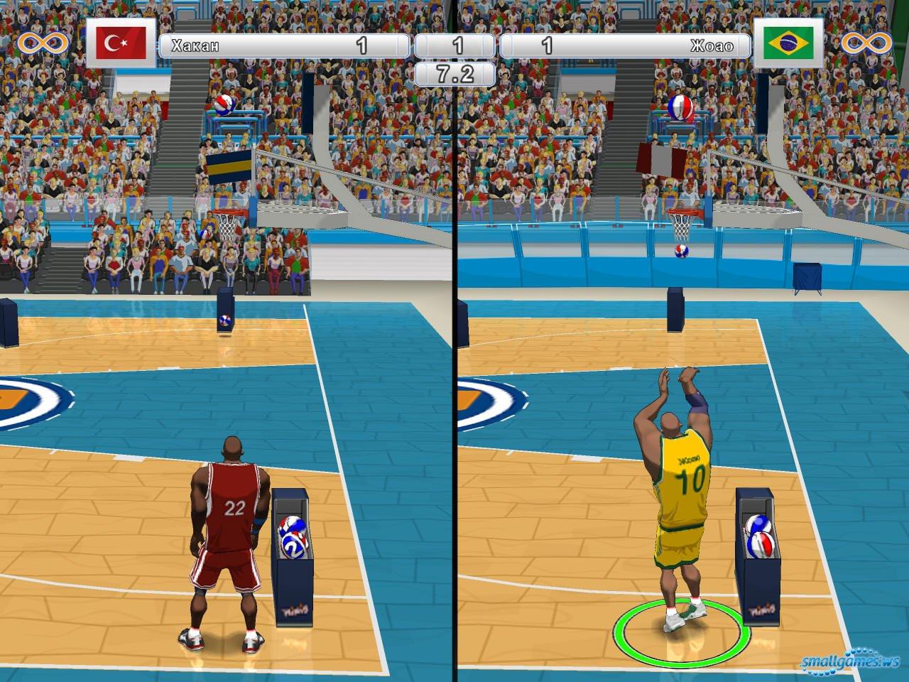 Скачать игру баскетбол на компьютер бесплатно