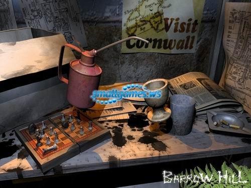 Прохождение игры Barrow Hill / Barrow Hill: Проклятие Древнего Кургана
