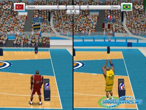 Улетный баскетбол