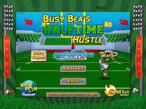 Busy Beas Halftime Hustle