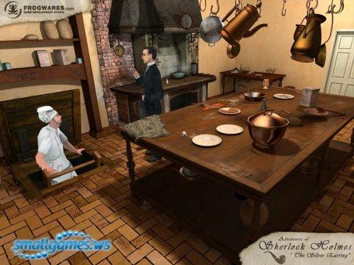 Прохождение игры Sherlock Holmes: The Case of the Silver Earring / Шерлок Холмс. Загадка серебряной сережки