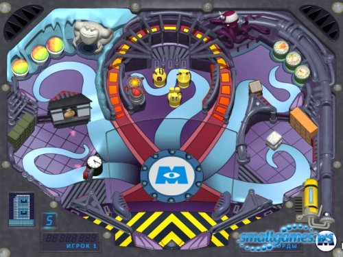 Monsters Inc. Pinball Panic (Rus)