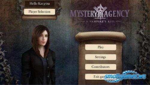 Mystery Agency: A Vampires Kiss