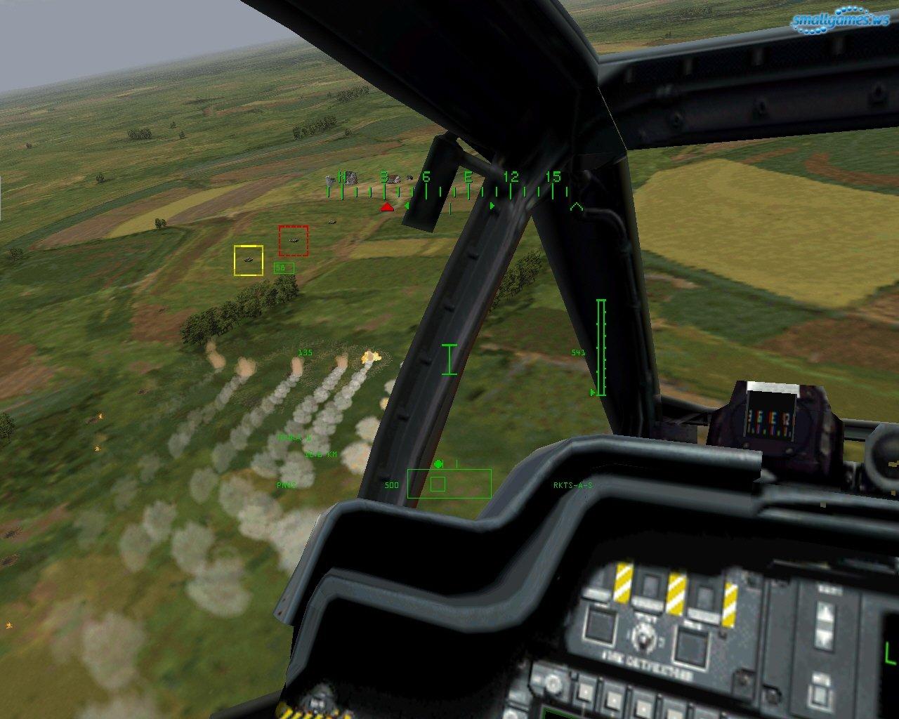Онлайн игра Штурмовой вертолет играть бесплатно
