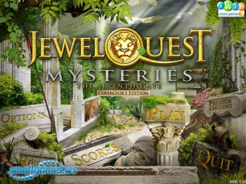 Jewel Quest Mysteries: The Seventh Gate - Collectors Edition