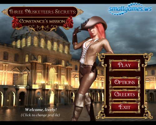 Three Musketeers Secrets: Constances Mission