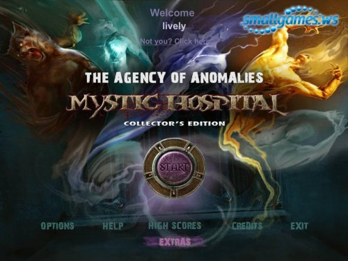Agency of Anomalies: Mystic Hospital Collectors Edition