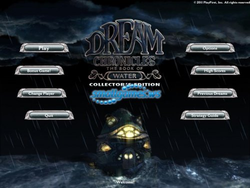 Dream Chronicles: The Book of Water Collectors Edition