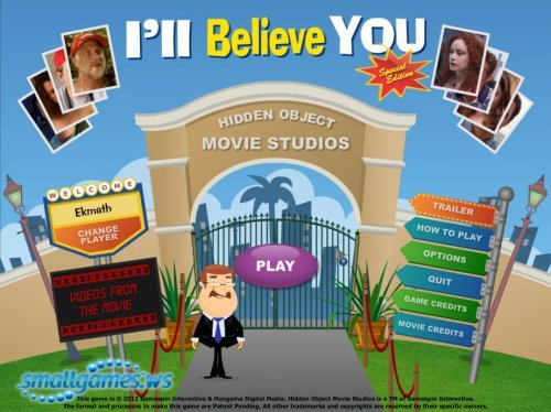 Hidden Object Studios: I'll Believe You