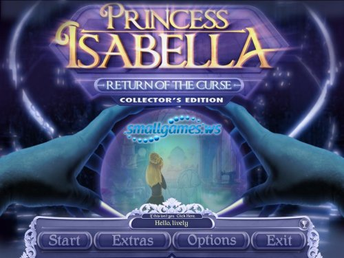 Princess Isabella: Return of the Curse Collectors Edition