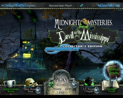 Midnight Mysteries: Devil on the Mississippi Collectors Edition