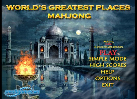 Worlds Greatest Places Mahjong