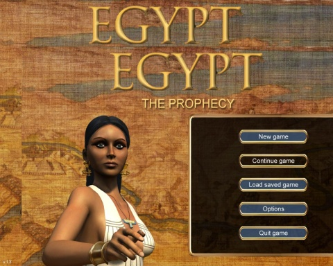 Egypt: The Prophecy. Part 1