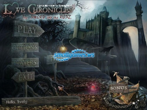 Love Chronicles 2: The Sword and the Rose Collectors Edition
