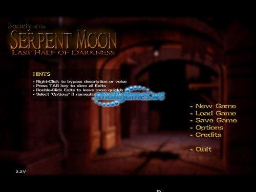 Last Half of Darkness Society of the Serpent Moon