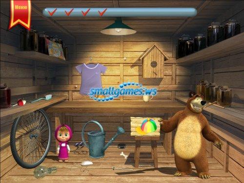 Маша и медведь. Развивающие задания для малышей