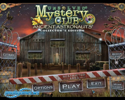 Unsolved Mystery Club: Ancient Astronauts Collectors Edition