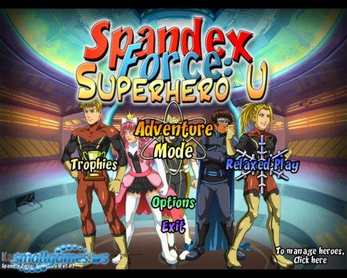 Spandex Force: Superhero U